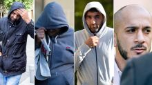Six 'predatory' men who groomed and raped teenage girls are jailed