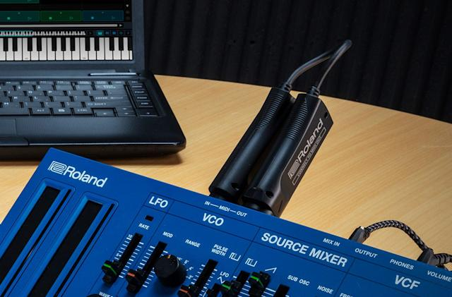 Roland's WM-1 turns your instruments into (MIDI) cord cutters