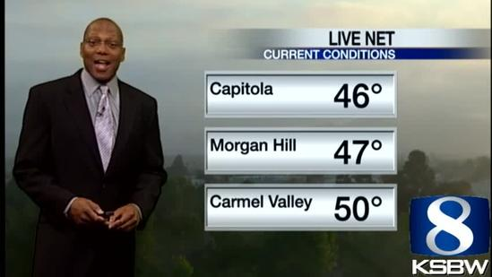 Get Your Thursday KSBW Weather Forecast 6.13.13