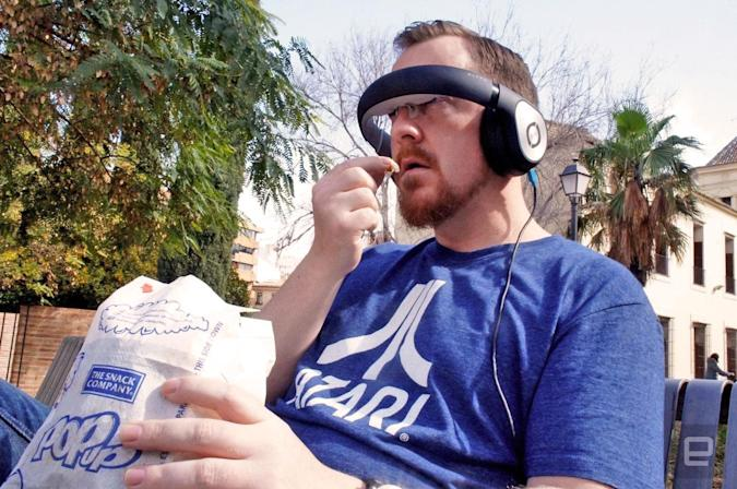Engadget giveaway: Win a Glyph video headset courtesy of Avegant!