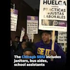 The Service Employees International Union has joined the Chicago Teachers Union strike