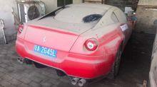 Incroyable mais vrai, cette Ferrari est mise à prix à 200 euros !