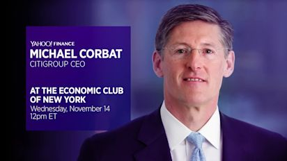 LIVE: Citigroup CEO Michael Corbat