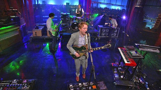 Live On Letterman - Two Door Cinema Club: What You Know