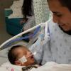 Husband of slain pregnant teen Marlen Ochoa-Lopez holds baby cut from wife's womb in heartbreaking photo