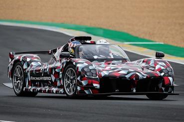 TOYOTA史上性能最強的超跑Toyota GR Sport利曼大賽中首次動態展示