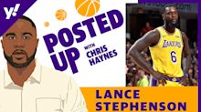 Lance Stephenson on playing with LeBron James & Space Jam 2, guarding Giannis Antetokounmpo, his route back to the NBA