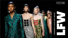 From creative cold-shoulders to sexy sheers, the hottest trends from London Fashion Week
