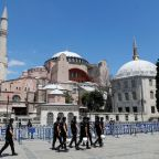 Turkey will cover Hagia Sophia mosaics during prayers -ruling party spokesman