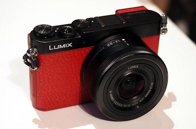 Panasonic's GM5 mirrorless is still tiny and now has a live viewfinder
