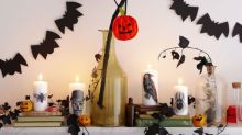 How to make a spooky bat garland for Halloween