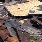Tornado damages town