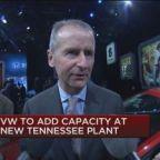Volkswagen spending $800 million, adding 1,000 jobs for n...