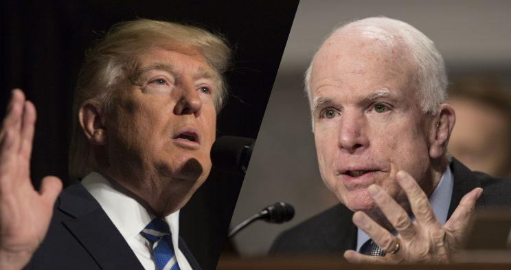 Trump accuses McCain of emboldening al-Qaida amid dispute ...