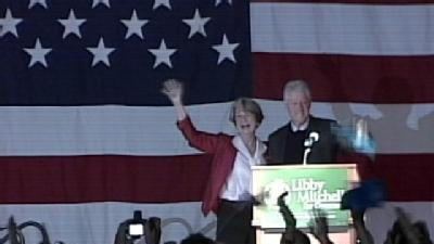 Clinton Returns To Maine, Stumps for Mitchell