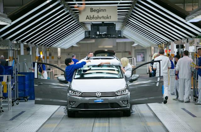 Volkswagen 'concludes' CO2 emissions are not a problem
