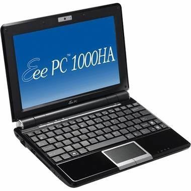 ASUS Eee PC 1000HA joins its comrades in the chiclet kingdom