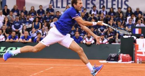 Coupe Davis - Coupe Davis : Julien Benneteau remplace Lucas Pouille pour le troisième simple