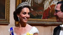 This is what Kate Middleton's royal wedding dress would look like if she married in 2019 (probs)