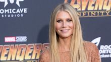 'Grown up and gorgeous!': Gwyneth Paltrow's daughter, Apple, sports pink hair and lips in new photo of the rarely seen 14-year-old
