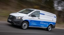 Mercedes Steps Up Electric-Van Push to Counter Deutsche Post