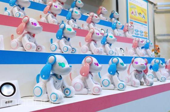 Poochi the robot dog can talk with your 3DS (and play rock-paper-scissors)