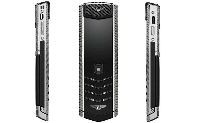 Vertu's latest 'basic' luxury phone goes well with your Bentley