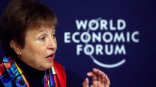 IMF chief warms global economy 'not out of the woods,' dangers lurk