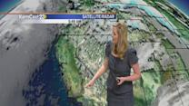 Friday: clearing clouds and average temperatures
