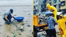 Randeep Hooda Steps Out Amid Heavy Rainfall to Clean Versova Beach