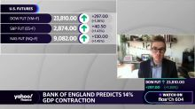 Bank of England predicts 14% GDP contraction