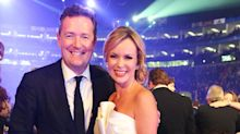Amanda Holden praises 'brave' Piers Morgan for sharing his opinions