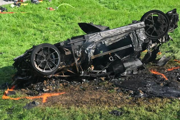 Amazon star Richard Hammond involved in electric car crash (updated)