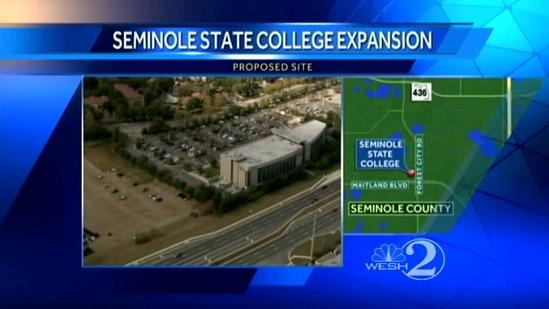 Major expansion planned for Seminole State College