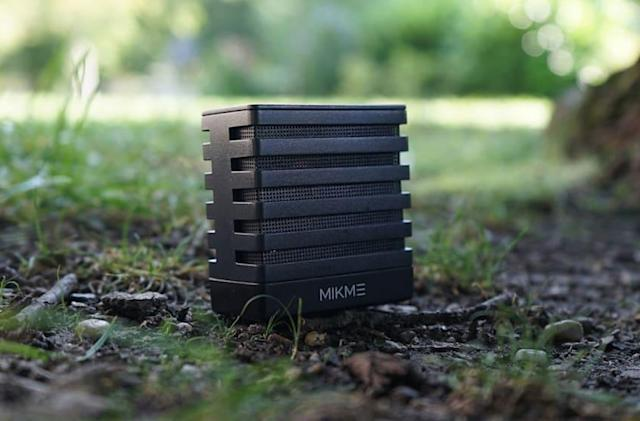 Mikme is a wireless microphone and audio recorder like no other