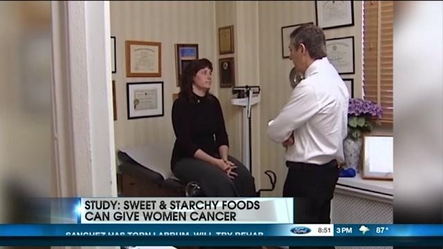 Study: Sweet & Starchy Food Can Give Women Cancer