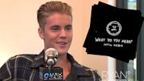 Justin Bieber Announces New Song 'What Do You Mean'
