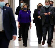 Pelosi aims to keep top U.S. House job if Democrats keep majority