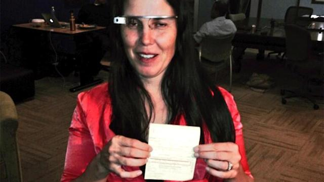 Woman ticketed for driving with Google Glass