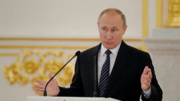 Putin calls ban on Russian Paralympic team 'immoral'