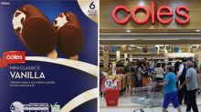 Coles customers reminded of dangerous ice creams