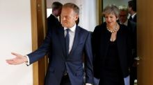 Good start, not enough: EU leaders mull May's Brexit offer