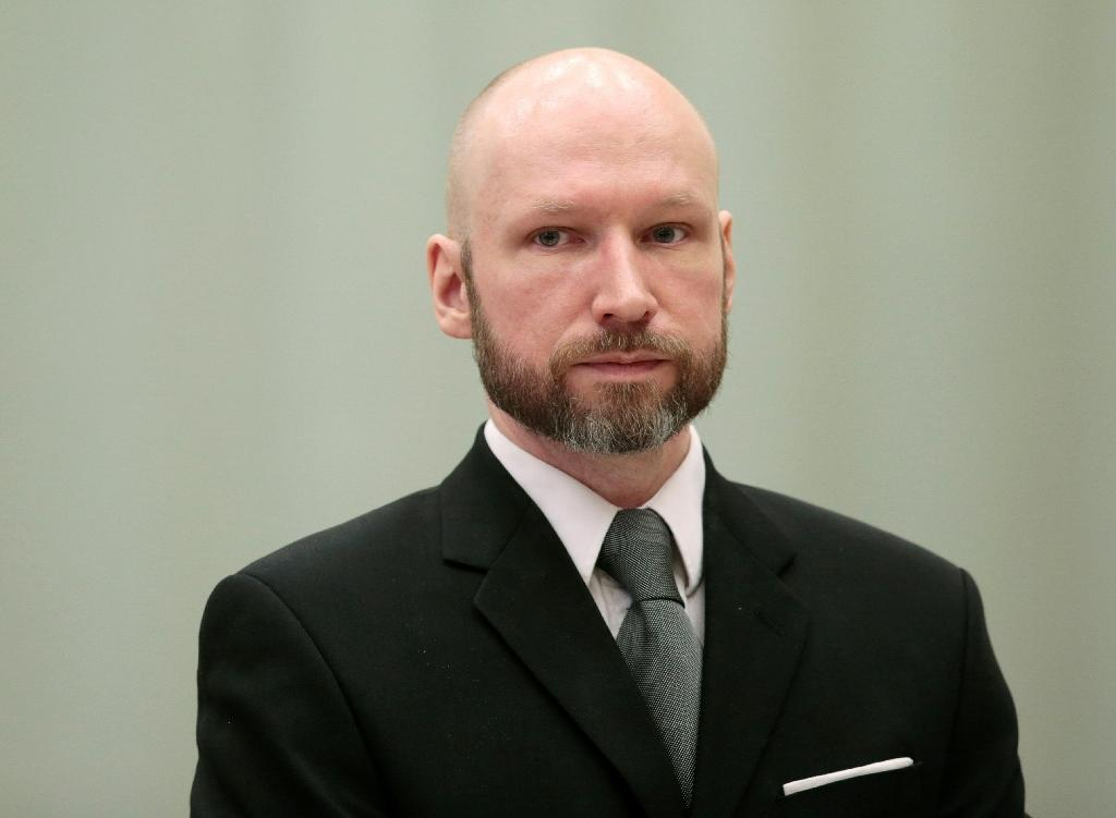 Anders Behring Breivik -- who killed 77 people in twin attacks in 2011 -- is serving a 21-year prison sentence handed down in 2012 (AFP Photo/)