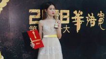 Chrissie Chau wins Actress of the Year