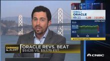Oracle beats the Street