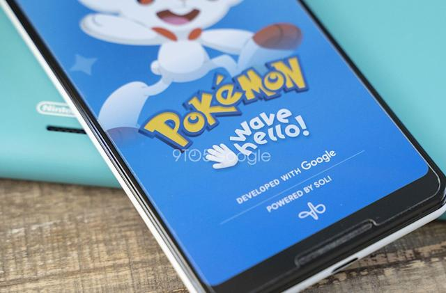 You'll be able to wave at Pokémon on the Pixel 4
