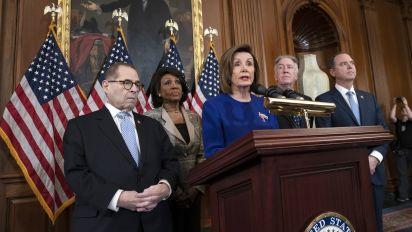 House Democrats unveil articles of impeachment