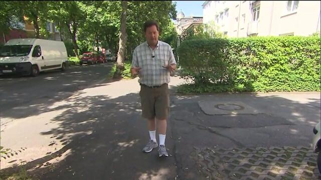 Reporter Visits Mother`s Pre-WWII Home in Germany