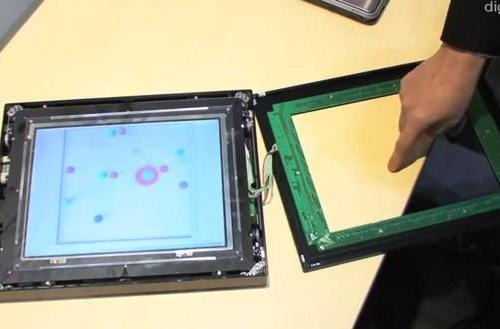 NEC's tactile touchscreen nudges at the future (video)