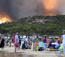Locals join firefighters battling French blazes